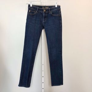 DL 1961 Size 25 Jeans Angel Mid-Rise Skinny